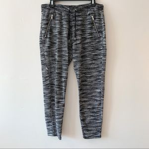 ⭐️5/$25 H&M Divided Grey Speckled Joggers